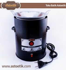 Kompor Batik Listrik Otomatis Astoetik Warna Hitam