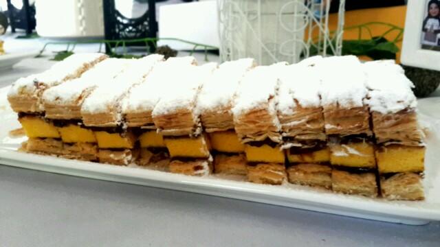 Surabaya Snow Cake Choco Banana