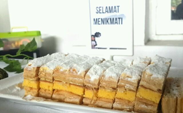 Surabaya snow cake karamel