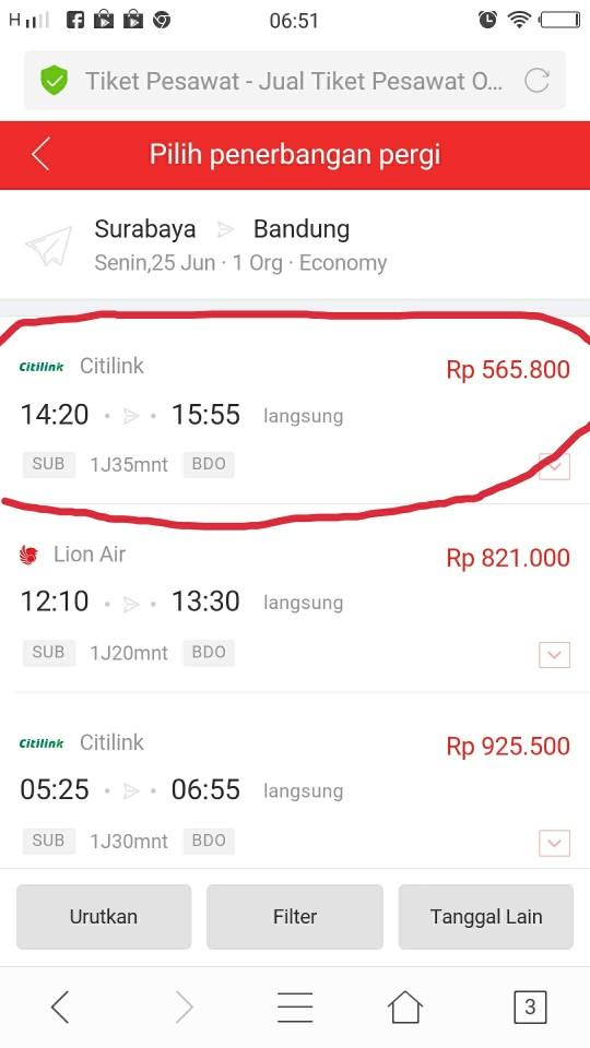 Harga tiket pesawat paling murah JD Flight