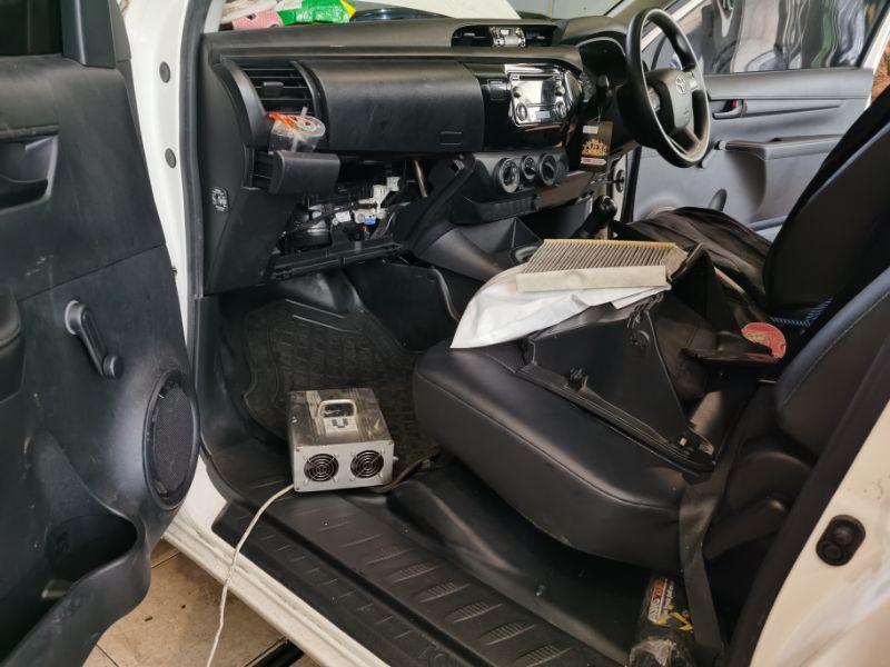Car ozone treatment dokter mobil